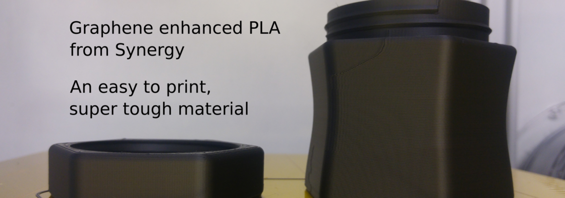Graphene enhanced PLA 3D prints